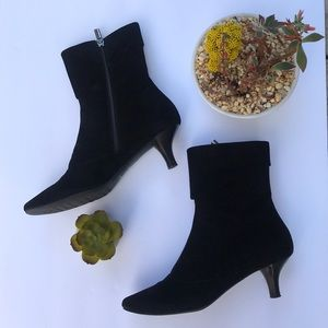 Aquatalia by Marvin K. Ellie Black Nappa Booties